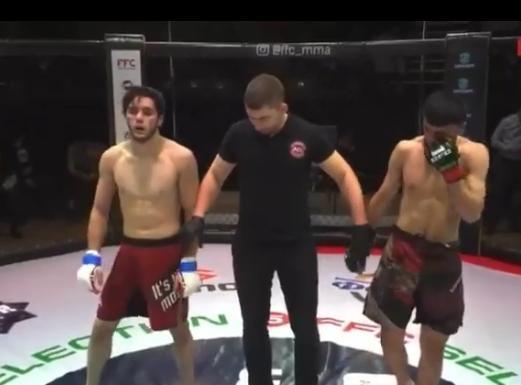 Сегодня наш боец Сапралиев Хож-бауди одержал победу единогласным решением!